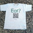 Kids Eat Crew Neck T-Shirt
